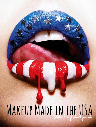 Makeup Made in the USA - Blushing in Hollywood