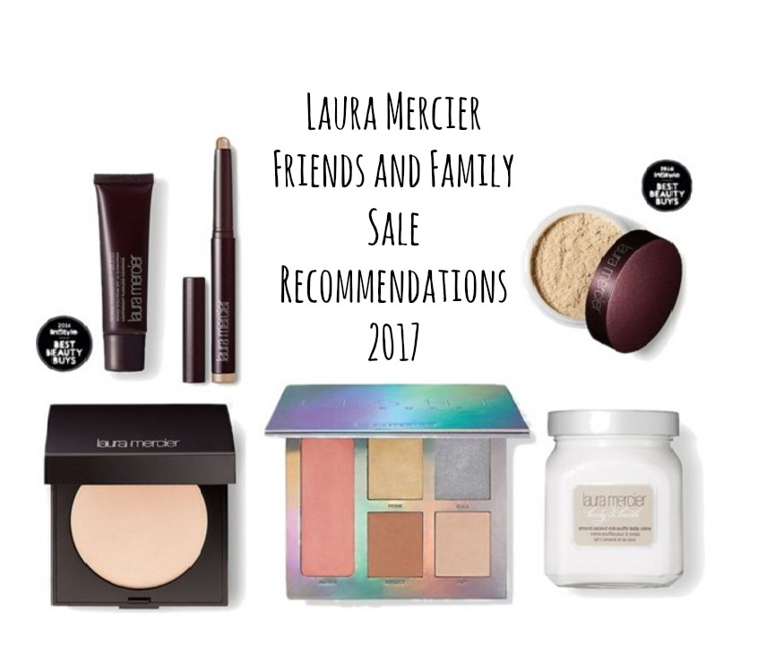 Laura mercier friends family sale 20 off and free for Laura mercier on sale