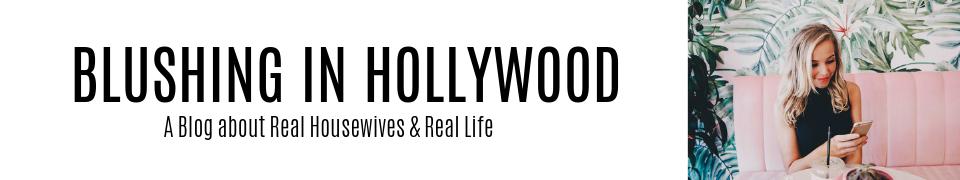 Blushing in Hollywood