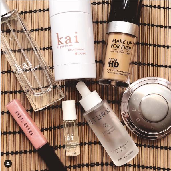 Denise Richards favorite beauty products from Instagram @deniserichards